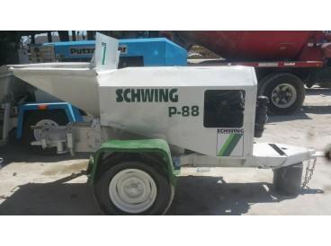 2004 SCHWING P88 CONCRETE PUMP