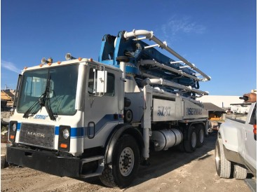 2007 MACK MR600 WITH SERMAC 5Z CONCRETE PUMP 37M