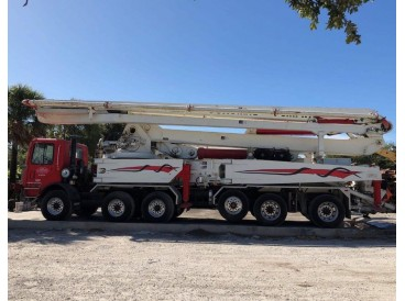 2001 MACK-SCHWING MR600-X52 CONCRETE PUMP TRUCK