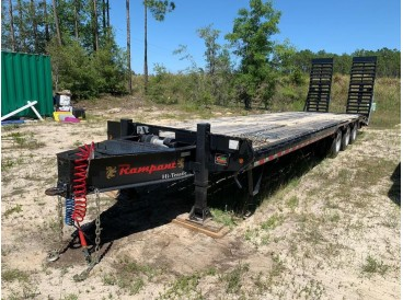 2020 RAMPANT TRI-AXLE TRAILER 35 FEET - 25TONS CAP.