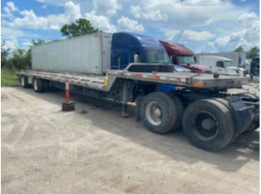 2005 TRANSCRAFT STEP DECK TRAILER